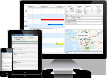 SDF Servicesystem på mobil, surfplatta och dator
